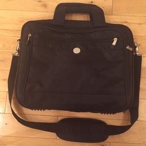 Black Laptop Bag Soft Briefcase Business Professional Case Dell for Sale in Los Angeles, CA