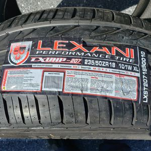 235/50zr18 lexani tires for Sale in Lebanon, PA