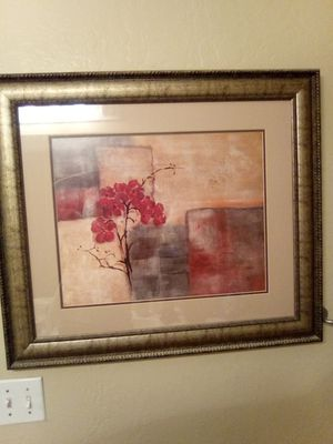 "Glass picture wood frame 25""/30"" for Sale in Mesa, AZ"