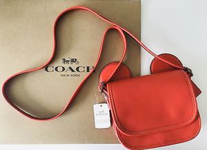 Authentic Coach X Mickey Ears Crossbody Purse (New with Tags) for Sale in Sun City, AZ