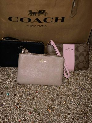 Coach Brand Wallets (Brown and Pink Coach sold, 2 left) for Sale in Colton, CA
