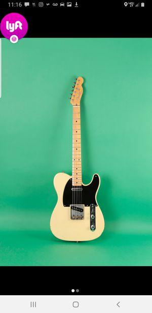 1953 Fender Telecaster re-issue, matching serial number. Fender hard case, Original documentation $1150 includes a classic Fender FX Amp for Sale in Ashburn, VA