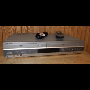 Sonny SLV - D560p DVD VCR Combo With Cables for Sale in South Elgin, IL