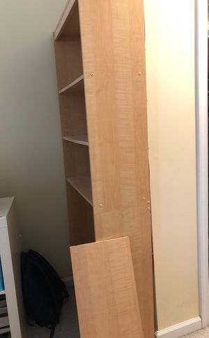 6ft wooden book shelf for Sale in Fairfax, VA