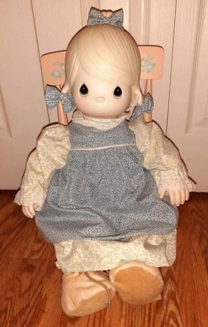 Precious Moments Doll In Rocking Chair for Sale in St. Peters, MO