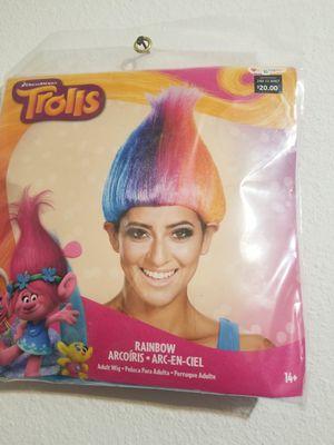 Trolls Rainbow wig costume for Sale in Ontario, CA