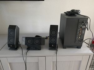 Logitech computer speakers x 540 for Sale in Anaheim, CA