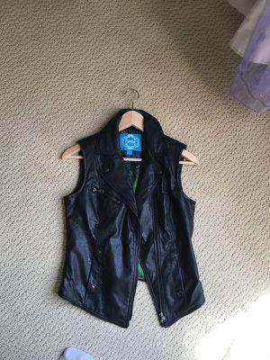 Faux leather vest for Sale in Ashburn, VA