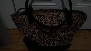 Cat courier leopard print great condition. for Sale in Charlotte, NC