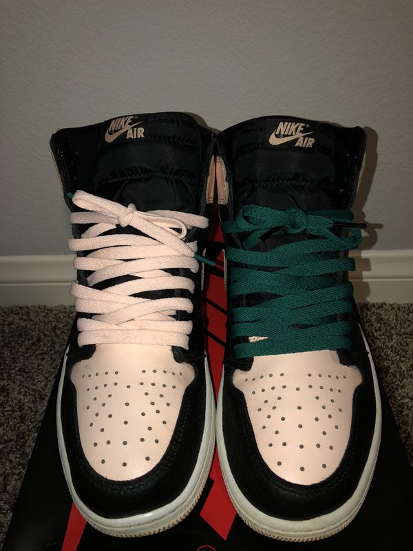 "Retro Air Jordan 1 ""Crimson tint"" Sz10"