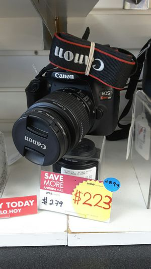 Camera Digital Canon with extra Lens for Sale in Miami, FL