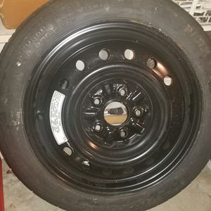 Spare tire and jack for Sale in Tacoma, WA