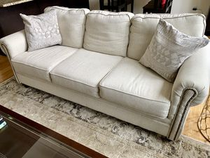 Comfy Wayfair sofa 🛋, less than 1 year, very good condition for Sale in Pittsburgh, PA