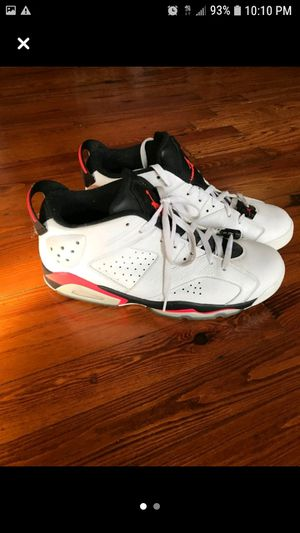Air Jordan 6 Retro Low Infrared White size 11 for Sale in New York, NY