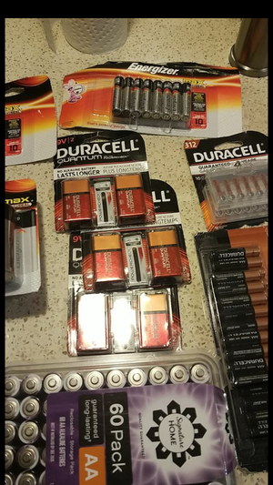 BRAND NEW VARIETY BATTERIES for Sale in Rockville, MD