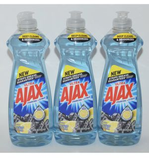 9 (14 oz) bottles of Ajax dish soap for Sale in Harrisburg, PA