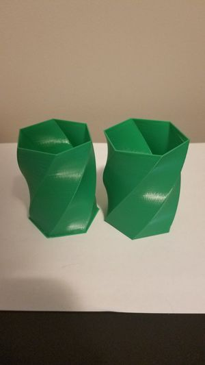 3D Printed Hexagon Spiral Container for Sale in Montgomery, PA