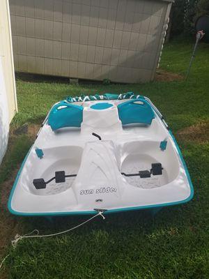 Sun dolphin peddle boat for Sale in Wirtz, VA