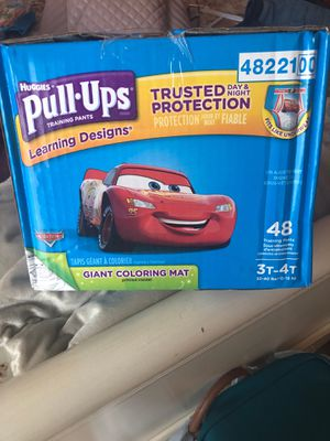 Huggies pull up size 3t-4t for Sale in Baltimore, MD