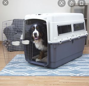 TWO LARGE DOG TRAVELING CRATES for Sale in Fort Meade, MD