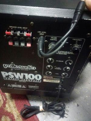 Polk audio powered sub woofer for Sale in Savannah, GA