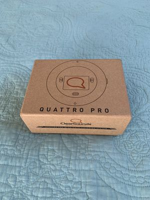 Quattro Pro Bluetooth Listening System for Sale in Ontario, CA