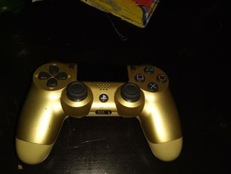 Ps4 Controller Custom Gold for Sale in Port Orchard,  WA