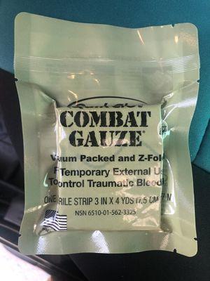 Quikclot Combat Gauze for Sale in Henderson, NV