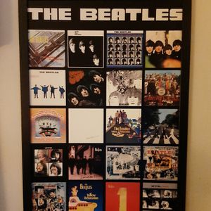 Beatles Framed Album Poster for Sale in Waterbury, CT