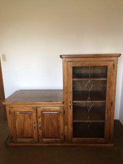 Wood Cabinet for Sale in Salem,  OR
