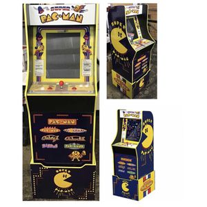 Arcade 1UP Pac Man Game Bundle for Sale in Missouri City, TX