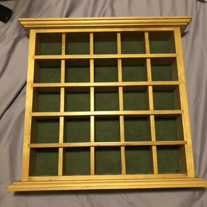 Wooden Display Case for Sale in Tampa, FL