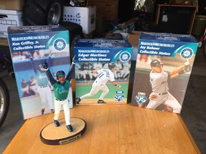 Seattle Mariners collectible statues for Sale in Seattle, WA