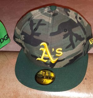 New Era Oakland A's fitted hat for Sale in Oak Lawn, IL