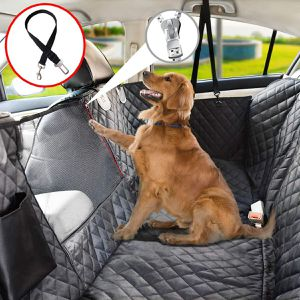 Dog Seat Cover for Back Seat, 100% Waterproof Dog Car Seat Covers with Mesh Window, Scratch Prevent Antinslip Dog Car Hammock, Car suv for Sale in Tampa, FL