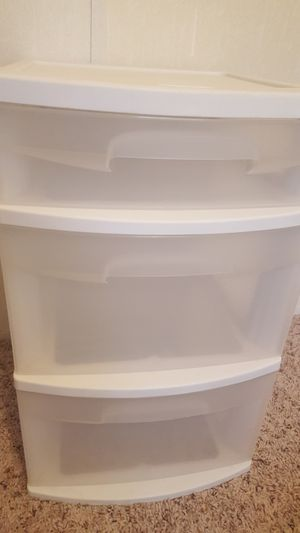 Plastic Organizer drawer for Sale in New Caney, TX