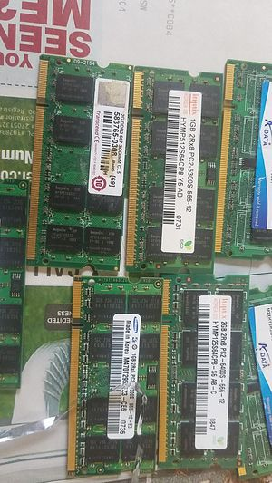 Ddr2 laptop ram for Sale in Everett, WA
