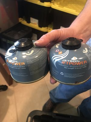 2 No of JETBOIL JETPOWER Fuel Canister - 100g for Sale in Vienna, VA