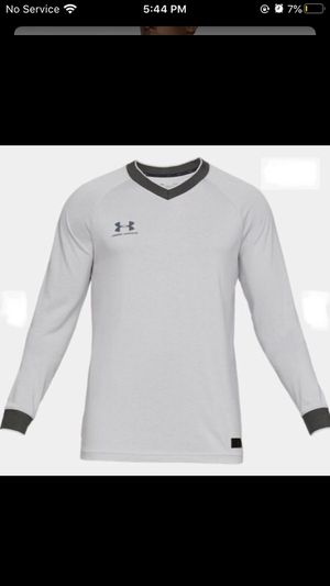 Under Armour UA Men's Accelerate Retro Long Sleeve Jersey - Grey New with tags for Sale in Buckhannon, WV