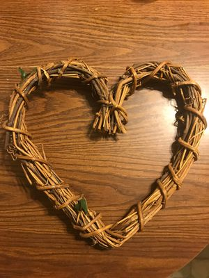Heart Twig Wreath for Sale in Downers Grove, IL
