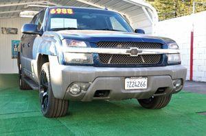 2002 Chevrolet Avalanche for Sale in Sacramento, CA