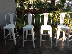 Tall table stool chairs. Bar stool's for Sale in Columbus, OH