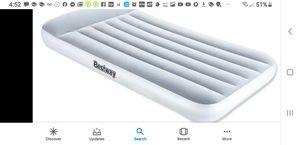 Bestway air mattress for Sale in Fountain Valley, CA