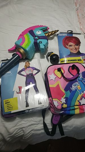 Full set brite bomber fortnite costume for Sale in Tamarac, FL