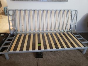 IKEA Futon (NO CUSHION) w/ red cover for Sale in San Diego, CA