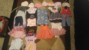 28 piece Baby girl lot newborn and 3 month for Sale in Irving, TX