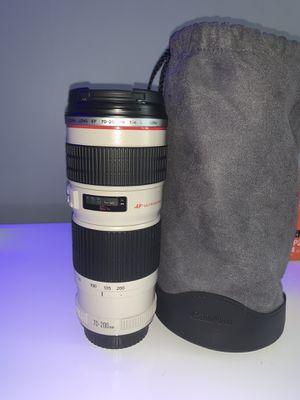 Canon 70-200mm f/4 Lens for Sale in Miami, FL