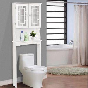 Bathroom Spacesaver Over The Toilet Door Storage Cabinet BA7402 for Sale in Monterey Park, CA