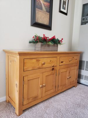 Breakfast Table/Credenza for Sale in Bremerton, WA