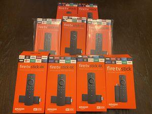 Amazon Fire TV Stick & Amazon Fire TV Stick 4K for Sale in Margate, FL